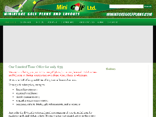 How to Build Miniature Golf best price